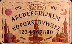 The Magical Wizard Talking Board